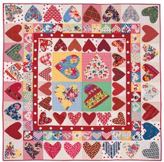 Martingale - That Patchwork Place Quilt Collection eBook ~ Be Mine Quilt by Sandy Klop