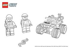 Lego Police Coloring Pages Lego City Atv Patrol Police - Baliod Star Wars Coloring Book, Lego Coloring Pages, Frozen Coloring Pages, Marvel Coloring, Fall Coloring Pages, Coloring Pages For Boys, Printable Coloring Pages, Coloring Sheets, Coloring Books