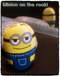 Minion on the rock!