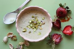 Afghanistan Firnee, Almond & Cardamom Cream Pudding