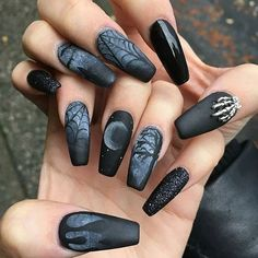 TRENDING: 66 Best Halloween Nail Art Designs for 2017 - Best Nail Art