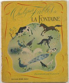 Curio Books ~ QUELQUES FABLES DE LA FONTAINE
