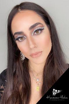 #muakonstantinamarkou #makeup #glam #xmasmakeup Glam Makeup, Beauty Makeup, Airbrush Make Up, Permanent Makeup, Eyelash Extensions, Eyelashes, Bridal, Artist, Lashes