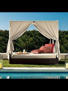 Gut Outdoor Bereich Einrichten Sommerliche Möbel Bambus Himmelbett | Himmelbett  Für Garten | Pinterest | Himmelbett, Outdoor Und Bambus