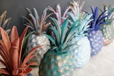 Annie Sloan Blogger Event – Vintage Oxford  #anniesloan #chalkpaint  #pineapple #pineapples