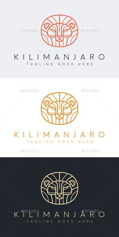 Kilimanjaro Logo Template Vector EPS, AI. Download here: http://graphicriver.net/item/kilimanjaro/14958485?ref=ksioks