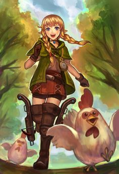 Linkle in my opinion is much better than Link. link is kinda stereotypical while Linkle I think has a lot of character and breaks stereotypes. plus, she's a CUCCO FARMER!
