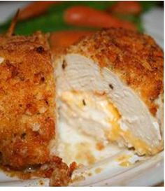 Garlic Lemon Double Stuffed Chicken | Flavorite