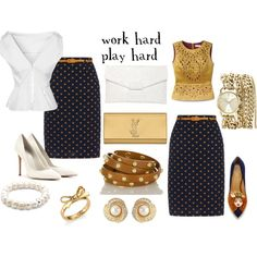 """""""office to playtime!"""" by tasha-mayo on Polyvore"""