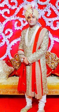 Wedding Sherwanis Suit Online for Groom & Men - Happy Shappy