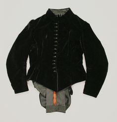 d17da18de8b Basque, cotton, silk, American 1880s Cropped jacket for top half of  ensemble Met