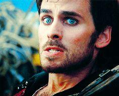 Colin O'Donoghue -Killian Jones - Captain Hook on Once Upon A Time 2x4