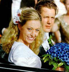 Baroness Christina-Louise Silfverschiöld + Hans de Geer af Finspang  via Royaldish