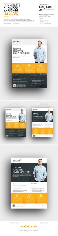 Corporate Flyer Template PSD. Download here: http://graphicriver.net/item/corporate-flyer/16180301?ref=ksioks