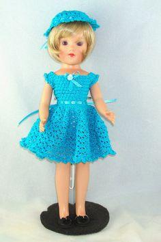 Crochet pattern for 14 inch dollslacy dress by pixiediva on Etsy