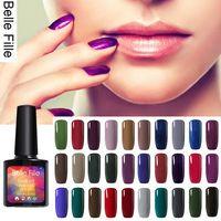 2016 New UV Nail Gel Polish Shining Deep Color 10ml Solid Long lasting primer soak off Polish Professional fingernail Gel Polish