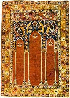 Anatolian prayer rug Late 17th or early 18th century