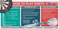 how to play darts by harrows
