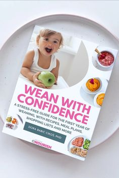 A full introduction to solid foods for your baby from 6 months old. With puree, mashed and baby-led weaning options. If you choose puree, it takes you from stage 1 baby food puree to pincer grasp at about 9 months old. Real whole foods. Written by a PHD Nutritionist. From baby to toddler to raise a confident, healthy eater. Baby Puree Recipes, Baby Food Recipes, Whole Food Recipes, Weaning Plan, Baby Led Weaning, Starting Solid Foods, Starting Solids, 8 Month Old Baby Food, Baby Meal Plan