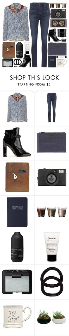 """You are my blue mildew, the one who saved me"" by pure-and-valuable ❤ liked on Polyvore featuring Coach, Citizens of Humanity, Valentino, Givenchy, Palila, Lomography, Living Proof, philosophy, NARS Cosmetics and John Lewis"