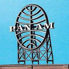 Pan American World Airways Rooftop Sign