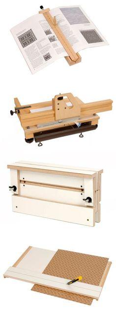 Louët book binding tools http://www.louet.nl/en/bookbinding-vertical-plough