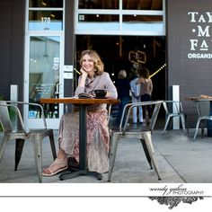 Personal Branding Photo with Gretchen Sechrist Kehan at the Barlow in Sebastopol, CA by Wendy K Yalom Photography {creative portrait, headshot, professional portrait, artistic, coach, life coach, author, blogger, speaker}