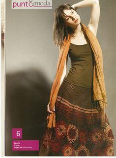 fanatica del tejido: revista puntoymoda