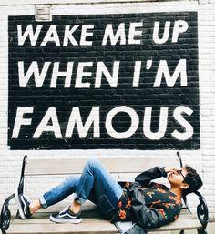 #wakemeup #photwall #ootd