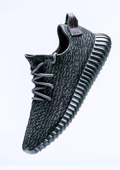 adidas Originals Yeezy 350 Boost 'Pirate Black' (via Kicks-daily.com)