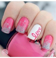Love this. I like the word love on the nail.