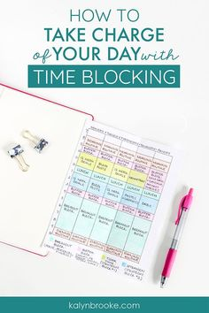 Time blocking revolutionized my life!! I can't believe how much this simple productivity tool affected how much I could accomplish in a single day. These tips are exactly what your looking for if you want to crush your goals and be more productive with your time.