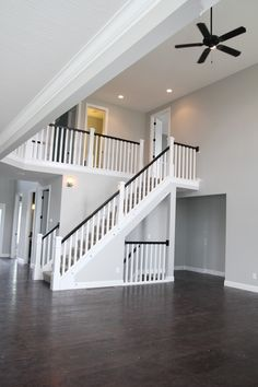 Thrift and Shout: My BIA Parade of Homes 2015 Preview Tour- Rockford Homes staircase