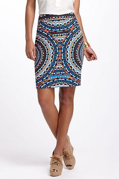 Olmeda Pencil Skirt #anthropologie