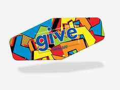 The Street art inspired bandage design for Nexcare™ Give 2014. #NexcareGive