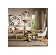 """#1.Trestle Salvaged Wood Extension Dining Table. $2695-3495 at Restoration Hardware.  84"""" is 2995"""