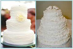 Alfa img - Showing > Buttercream Wedding Cakes No Fondant