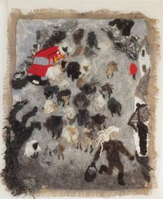 11 O'clock by Moira Laidlaw in the Devon: A Contemporary View open art exhibition at Harbour House (spring 2015)