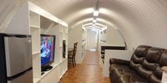 I want this for my man cave!  - Atlas Survival Shelters-Underground Bomb Shelters For Sale