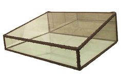 Glass & Copper Plated Curio Case on OneKingsLane.com from Maxwell's 9.13.34.  Sold!