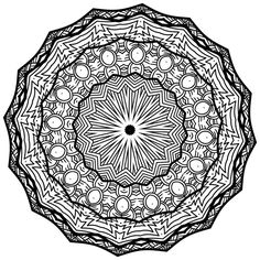 Mandala Coloring Page For Adults And Kids