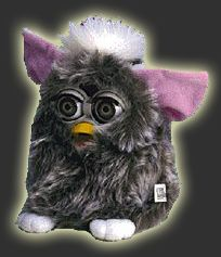 "Furby! ... 5 years after I stored him in the corner of my closet, mine woke up one night and said ""I'm hungry, feed me"". Talk about nightmares for a week!!! lol true story"