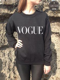 VOGUE Fashion Jumper Sweater Top Fashion SWAG Homies door SanFranCo, £14.99