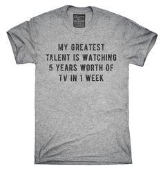 My Greatest Talent I