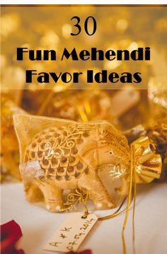 Mehendi Favor Ideas