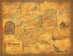 Plan of Edoras