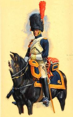 French horse Grenadier of the guard, The Napoleonic wars