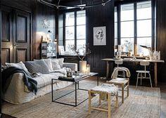 ATELIER RUE VERTE , le blog: Suède / Un salon stylisé par Pella de Stil Inspiration /