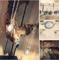 #loveForBuddha Sieraden met mooie natuurstenen 😍 #Handgemaakt #zilver #Bali #LFB #Haverstraatpassage #Enschede