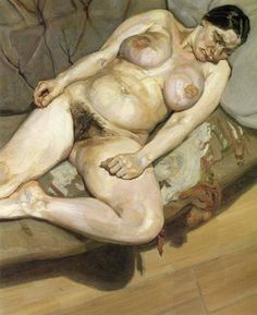 Lucian Freud:Seated figure